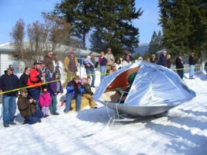 2009 Alien barstool spaceship.