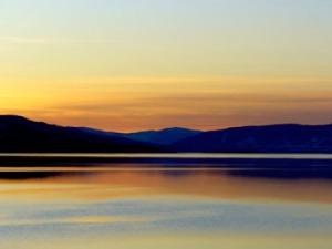 Lake Sunset.