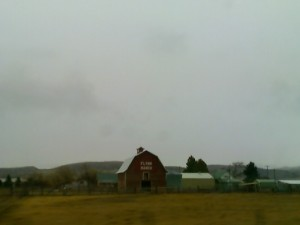 Montana pic at 65mph with cell phone.