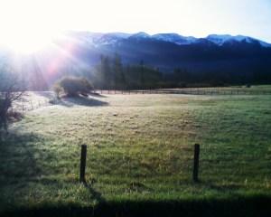 Sunrise from RAZR V3
