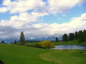 Spring in Montana.