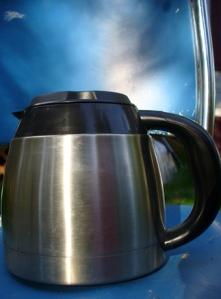 Coffee pot I like to take to work.